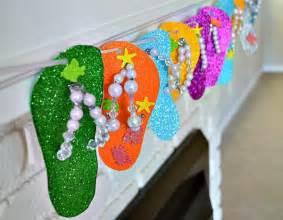 Kids Craft Summer - kids craft flip flop keepsake craft kids play box
