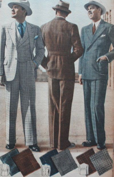 a popular style of 1930s suit 1000 images about 1930s mens fashion on pinterest