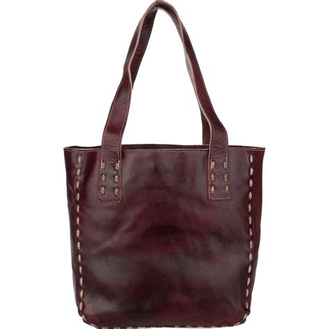 Bed Tote by Bed Stu Stevie Midsize Leather Tote