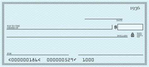 Printable Personal Blank Check Template Check Blank Check Blank Blank Check Template Blank Personal Check Template
