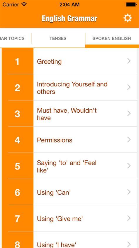 Grammars In Your Pocket 2 app shopper grammar complete education
