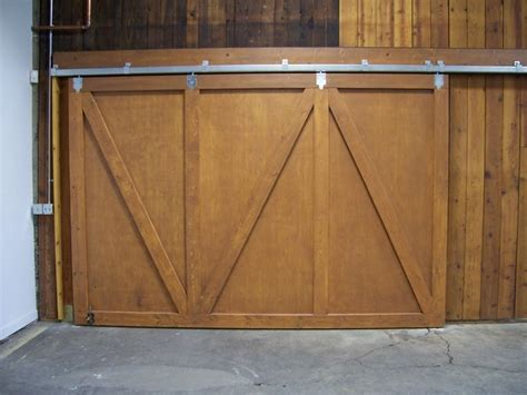 Sliding Plywood Doors by Make A Plywood Barn Door Search Barns