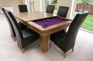 awesome pool table dining table combo