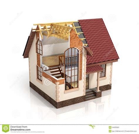 plans for construction of house construction house plan design blend transition illustration co stock illustration