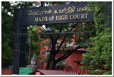 Madras High Court Search Madras High Court Clerks Vacancies