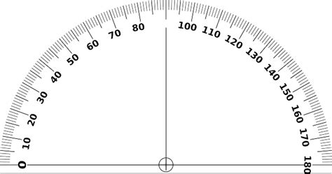 Busur Derajat free vector graphic protractor angle geometry free image on pixabay 46461