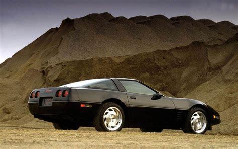 black c4 corvette chevrolet corvette c4 1983 black side low angle wallpaper