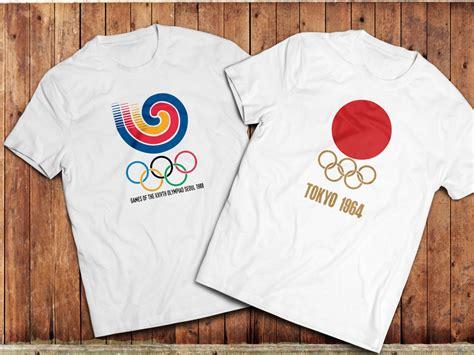 Tshirt Vintage All 88 vintage olympics tshirt tokyo 1964 seoul 1988 retro sports