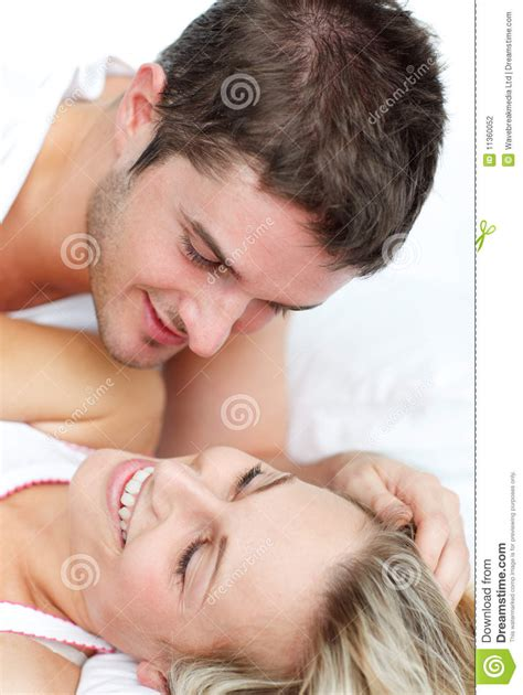lovers in bed lovers lying in bed stock photography image 11360052