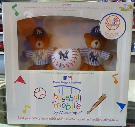 Baseball Baby Crib Mobile by New York Yankees Baseball Mobile By Mascotopia Baby Crib