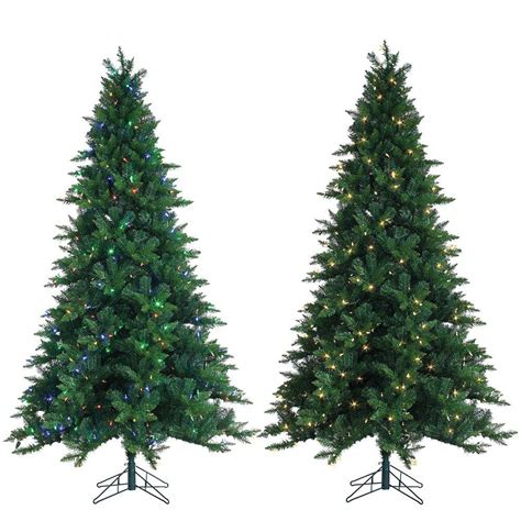 sterling 7 5 ft pre lit oakland spruce artificial