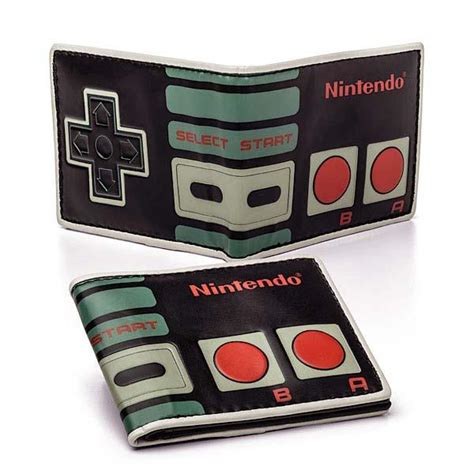 Nintendo Controller Wallet by Nintendo Controller Inspired Bifold Wallet Gadgetsin