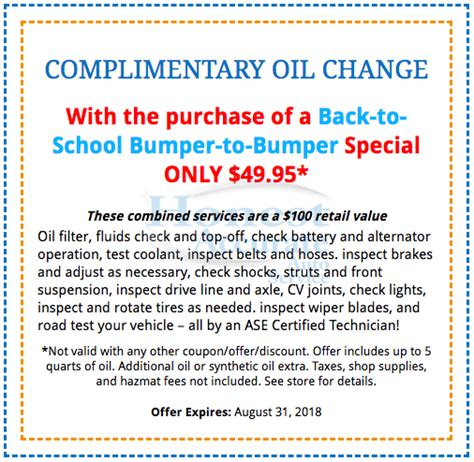 august  school bumper  bumper honest accurate auto