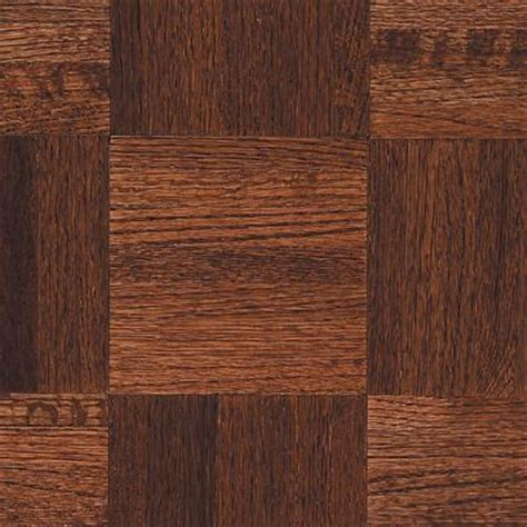 bruce oak parquet cherry 5 16 in thick x 12 in