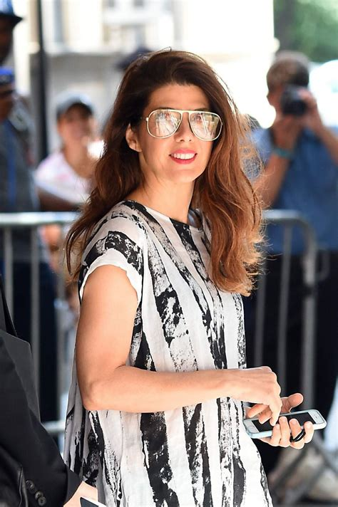 Mahiza Maxi marisa tomei seen out in manhattan in a black and white