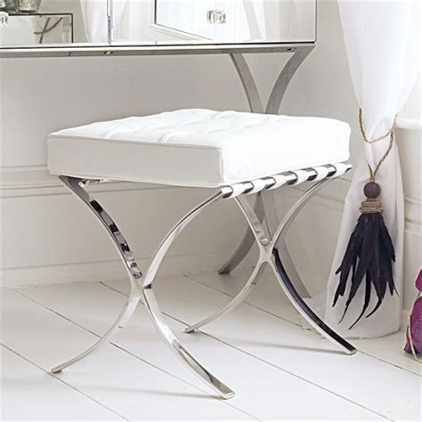 modern vanity chairs for bathroom sovana dressing table stool contemporary vanity stools