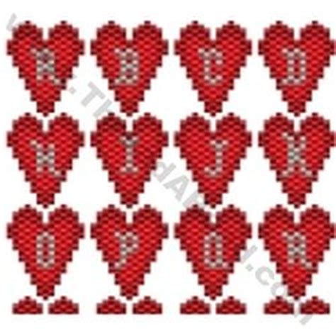 seed bead letter patterns 57 best images about 1 alphabet peyote on