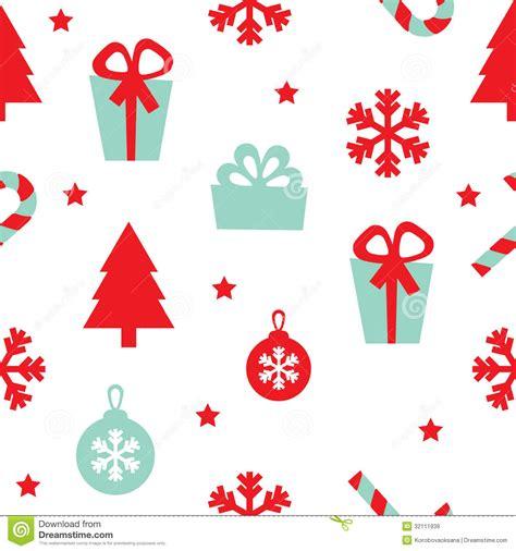 wann fängt weihnachten an nahtloses weihnachten muster des vektors lizenzfreie