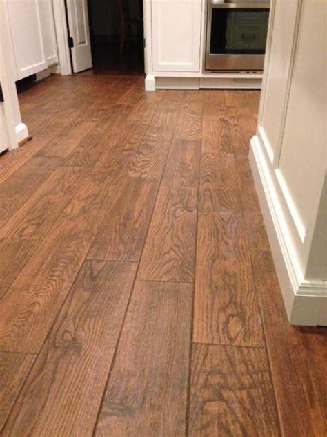 Flooring; Marrazzi Gunstock Oak porcelain tile, Home Depot