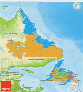 physical and political map of canada politicians in newfoundland and labrador