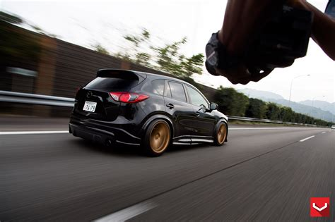 mazda cx3 custom mazda cx 5 tuned with vossen wheels and air suspension