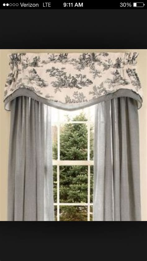 Curtain Valance Toile Curtain Idea Gardin F 246 Rslag Pinterest F 246 R