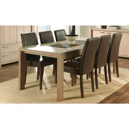 table salle a manger cdiscount salle a manger discount maison design wiblia