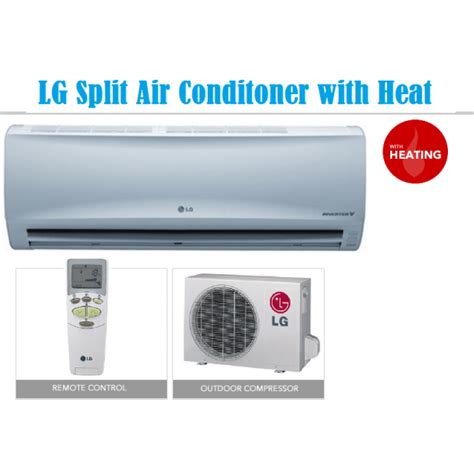 Ac Lg Cool lg 18000 btu split air conditioner with heat cool for