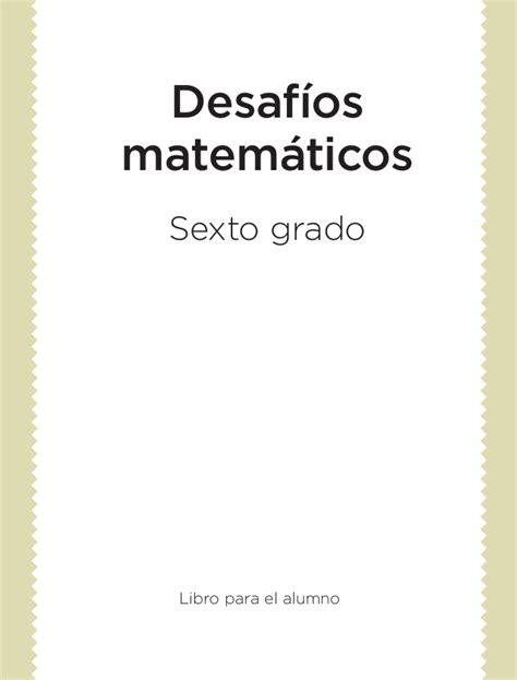 desafios matematicos 3 grado contestado desafios matematicos 6 176