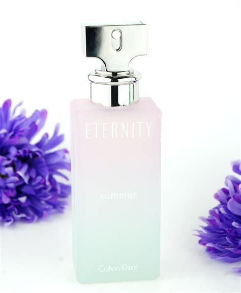 Parfum Eternity Summer fragrance friday calvin klein eternity summer obsession