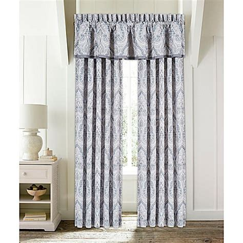 waterfall valance pattern buy piper wright mykonos waterfall window valance in