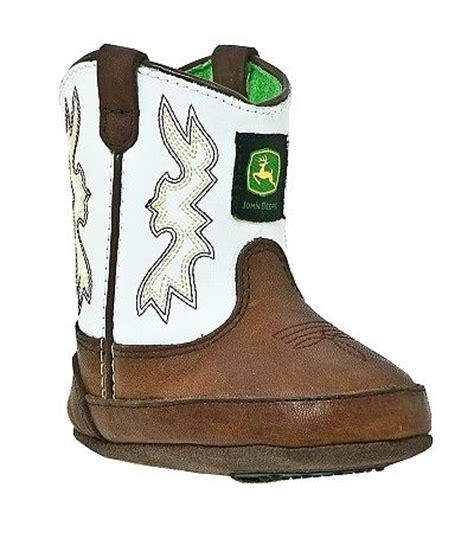 deere baby boots baby deere boots in white outback leather