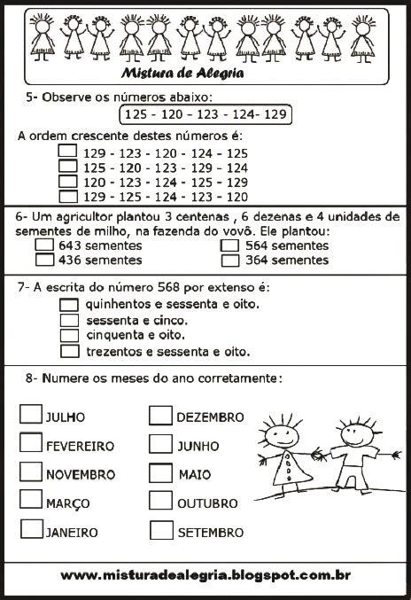 Calendario Prova Area Ii Avalia 199 195 O De Matem 193 Tica 3 186 Ano Para Imprimir E Colorir