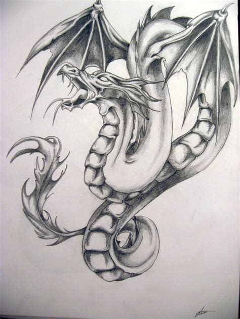 winged dragon tattoo designs tattoos and designs page 155