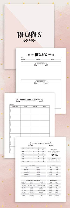 1000 Ideas About Cookbook Template On Pinterest Make Your Own Cookbook Recipe Templates And How To Make Your Own Cookbook Template