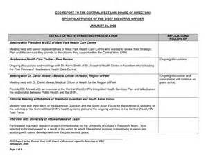 Cfo Report Template best photos of executive directors report template
