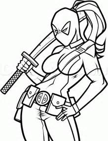 deadpool coloring book deadpool coloring pages to and print for free