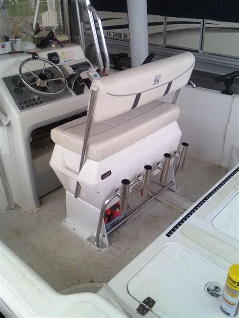 todd boat cooler seats aft rod holder bar kit