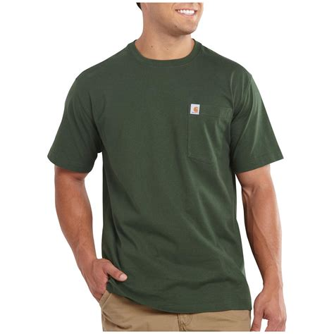 T Shirt Sleeve Oshkosh carhartt maddock pocket sleeve t shirt 590858 t shirts at sportsman s guide