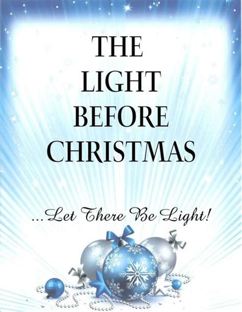 the light before christmas close encounters ministries