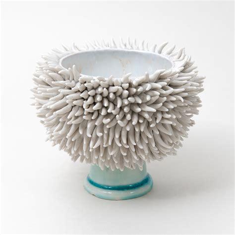 Flower Bowl Vases Small Pedestal Urchin Bowl