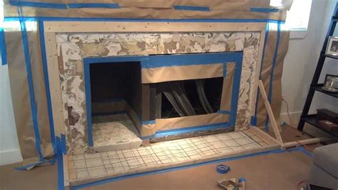 How To Fireplace by How To Make A Concrete Fireplace Surround Six Simple Steps