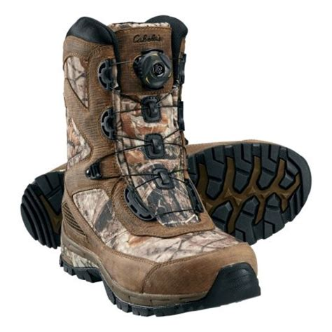 cabelas mens hiking boots cabela s s 9 quot boa speedhunter boots with 400 gram