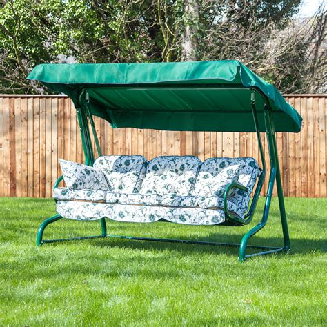 3 seat swing cushion replacement garden 3 seater replacement swing seat hammock cushion set
