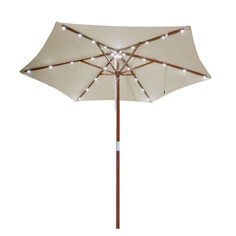 outdoor umbrella with solar lights patio umbrellas with solar lights 9 new solar 40 led