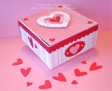 valentines day box box craft homeminecraft