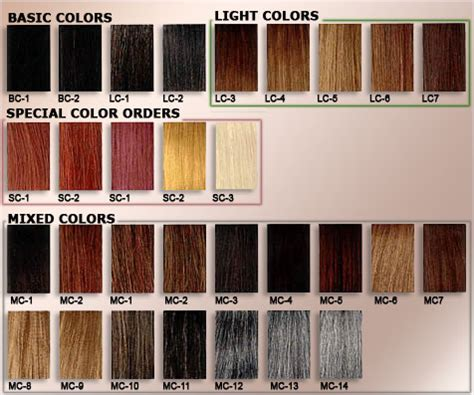 hair extension color chart hair extensions color chart ponytail extension