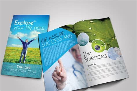 adobe indesign brochure templates free 8 modern medical
