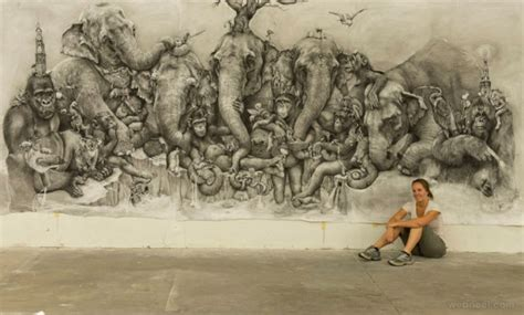 Poster 3d Jumbo Fauna Kuda 3dj 09 Size 78 5 X 58 5 Cm 30 amazing pencil drawings around the world for your inspiration