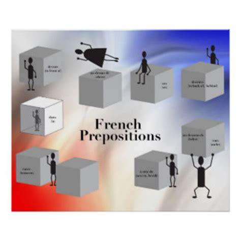 prepositions posters zazzle classroom posters zazzle